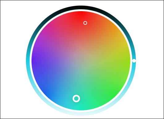 colour wheel to choose paint colours for interior or exterior painting