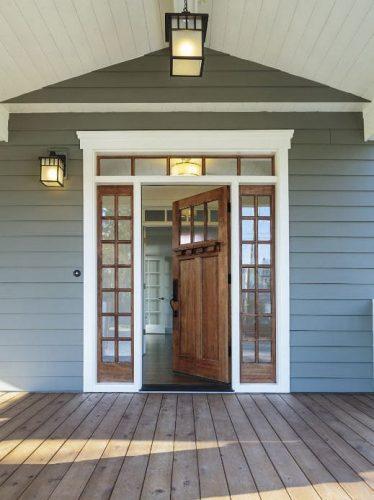 exterior front door and patio porch