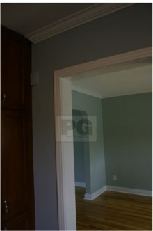 interior painting by PG PAINT & DESIGN painters