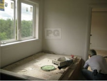 patching and repairing drywall before painting by PG PAINT & DESIGN Painters in Ottawa