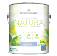 Natura interior Paint can from benjamin moore