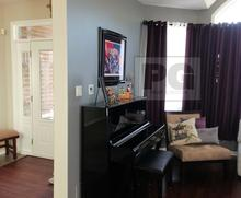 entrance foyer and hallway with living room. Interior painting services by PG PAINT & DESIGN Ottawa House Painters