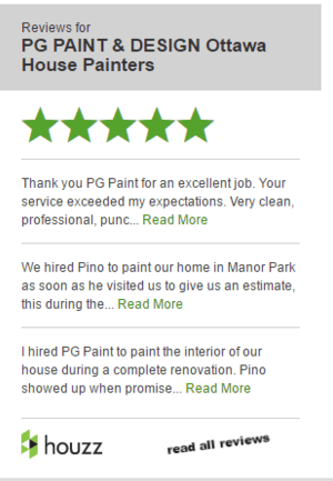 reviews for PG PAINT & DESIGN Ottawa House Painters on Houzz
