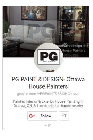 PG PAINT & DESIGN - Ottawa House Painters on Google Plus