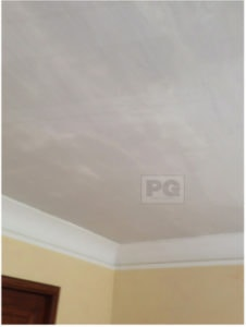 smooth ceiling after stipple removal by PG PAINT & DESIGN Ottawa House Painters