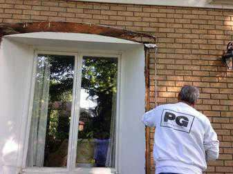 removal of old rotted wood before exterior painting by PG PAINT & DESIGN Ottawa House Painters