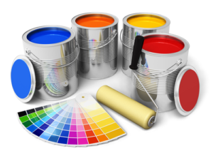 paint cans and paint colour samples guide to buying paint