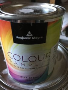 can of paint colour sample
