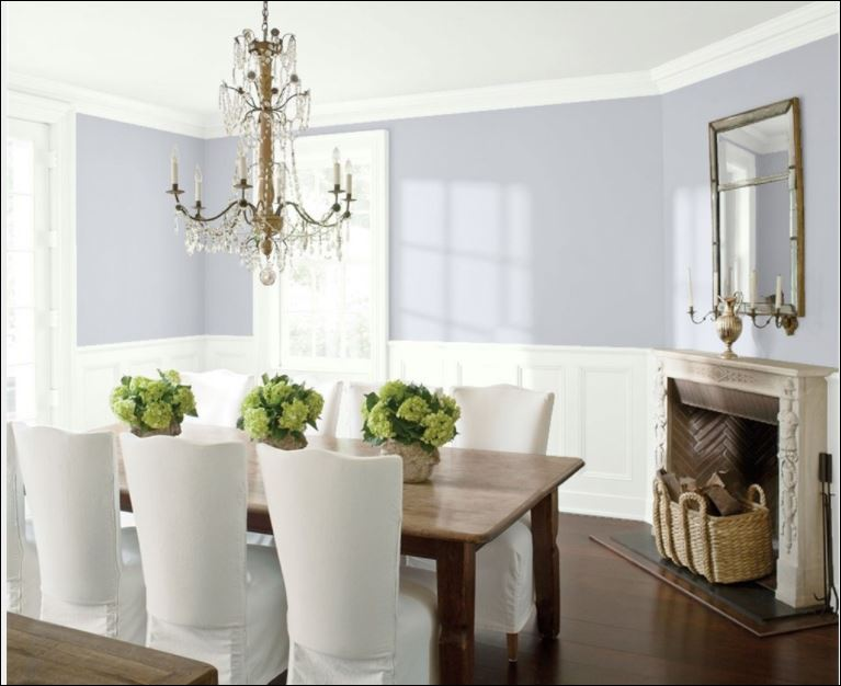 paint colour misty memories from benjamin moore paints used by painting company in ottawa PG Paint & Design