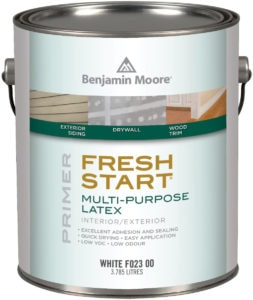 paint primer for interior or exterior painting