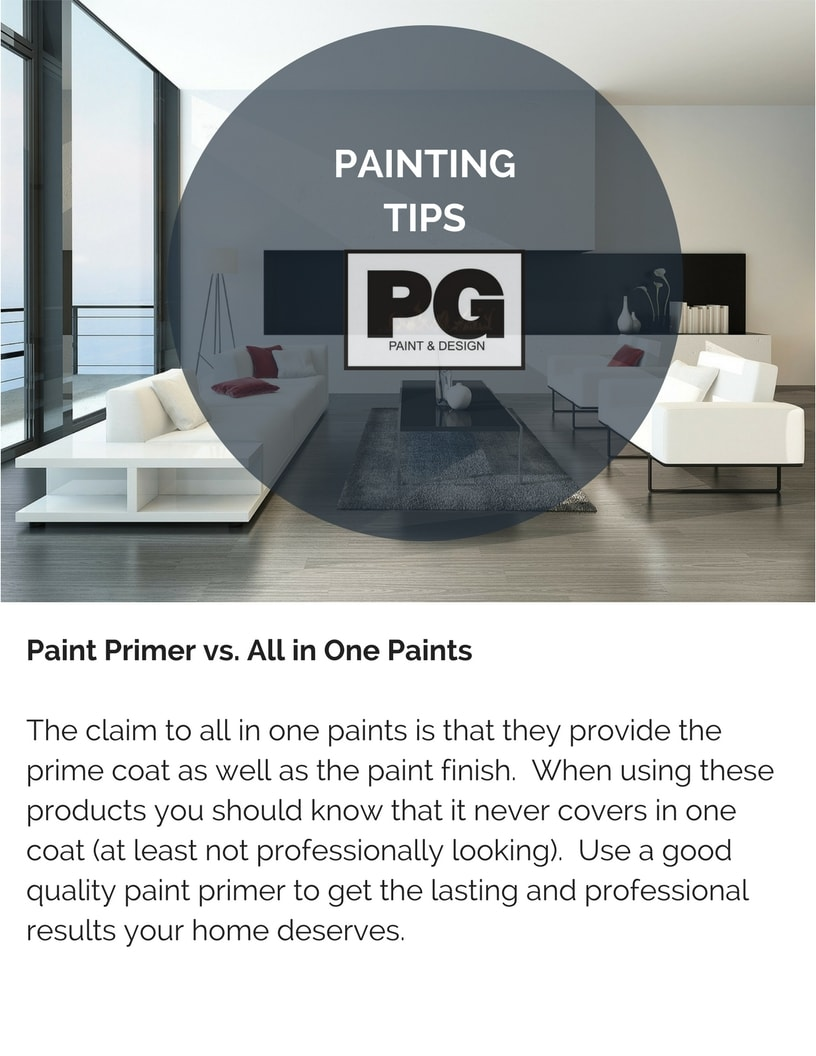 Painters Advice On Using Paint Primer Vs All In One Paints Know The Difference Between