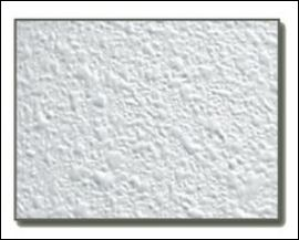 popcorn ceiling sample