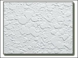 textured ceiling sample