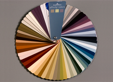 affinity colors by Benjamin Moore