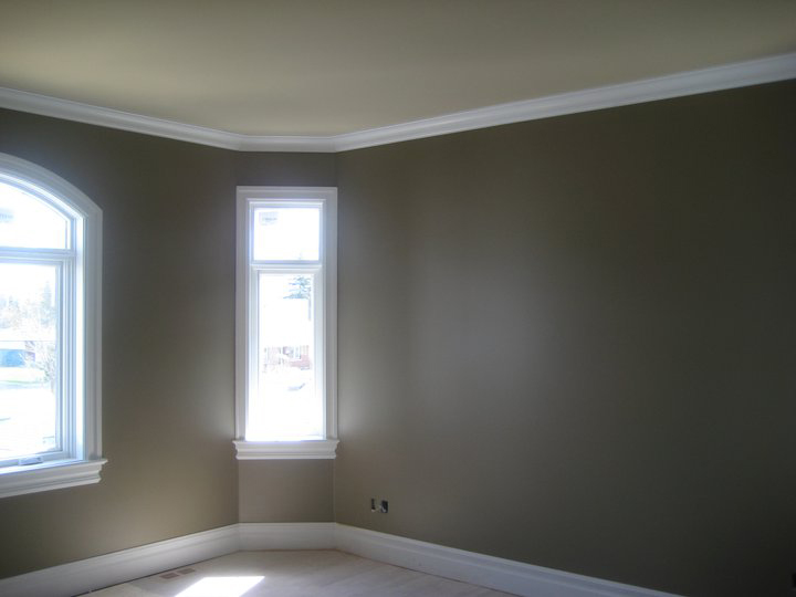 an interior of living room painted by painters in Ottawa PG PAINT & DESIGN