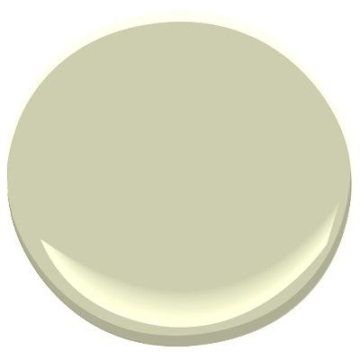 interior paint colour sample of guilford green from benjamin moore paints