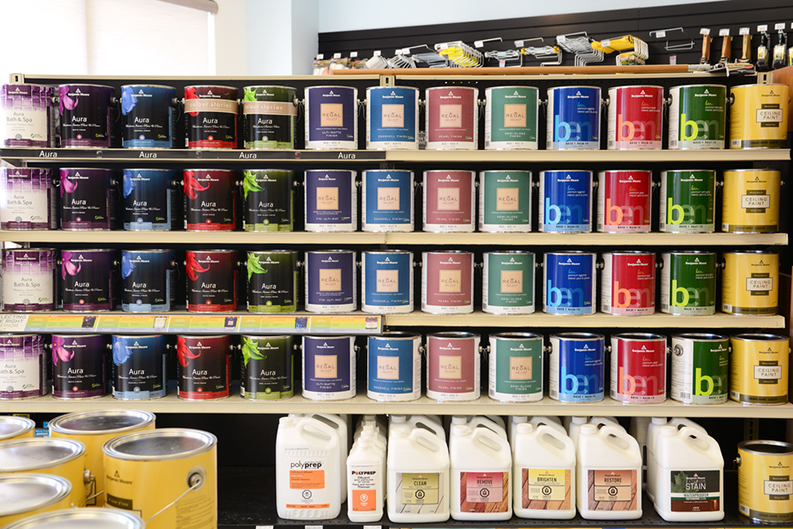 many lines of Benjamin Moore paints