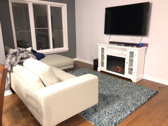 interior painting of living room by painters in Ottawa PG PAINT & DESIGN