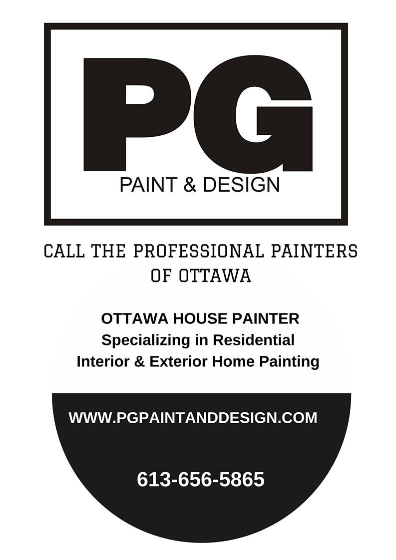 professional painting company PG PAINT & DESIGN in Ontario Ottawa contact details