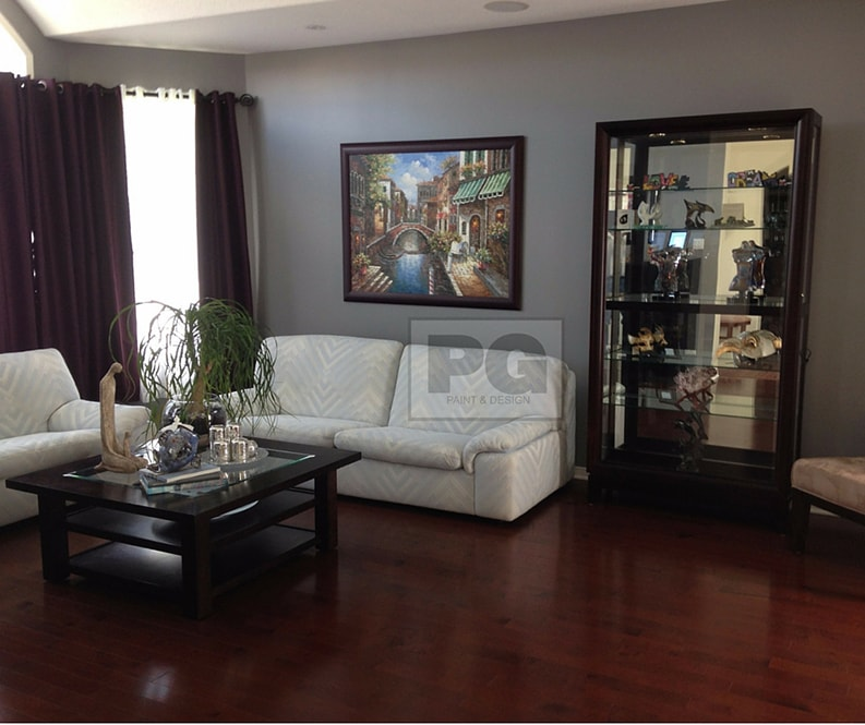 interior painting of house in Nepean, Ontario