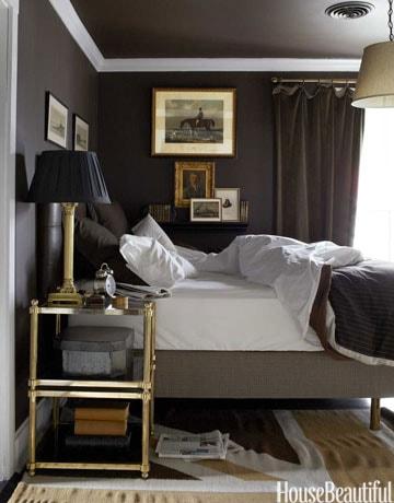 repainted dark walls in a bedroom in Ottawa Canada