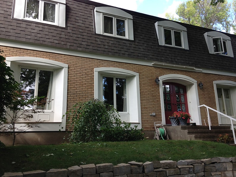 exterior painting of house by PG Paint & Design Rockcliffe area in Ottawa Ontario Canada