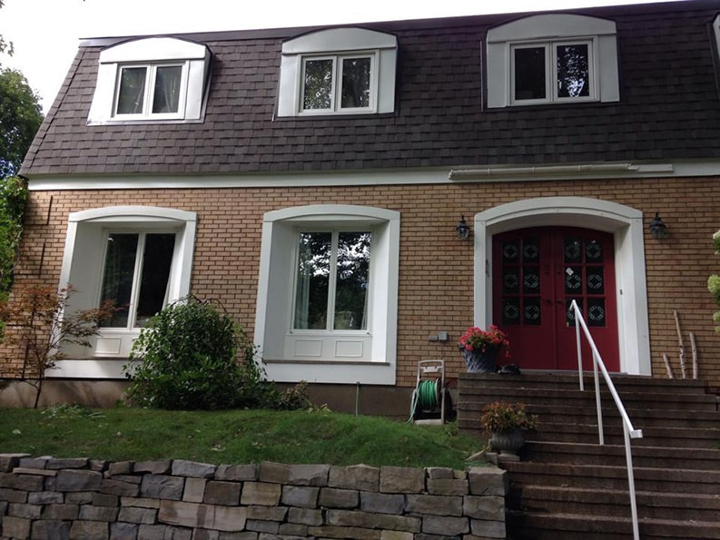 repainted house exterior by PG PAINT & DESIGN Rockcliffe area in Canada Ontario Ottawa 3