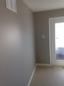 wall professionally painted by PG PAINT & DESIGN