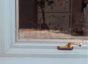 window caulk wearing out around the edges photo courtesy from the Benjamin Moore website