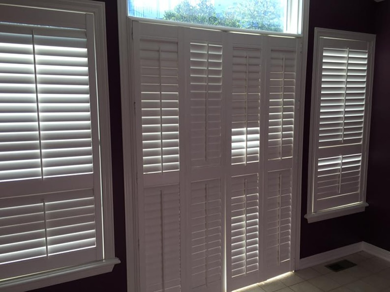 window shades professionally painted