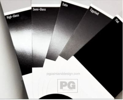 paint finishes for interior and exterior painting