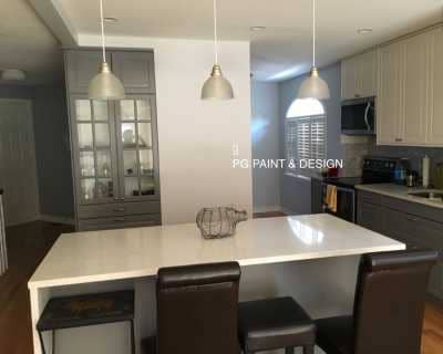 interior painting of kitchen by painters in Ottawa PG PAINT & DESIGN